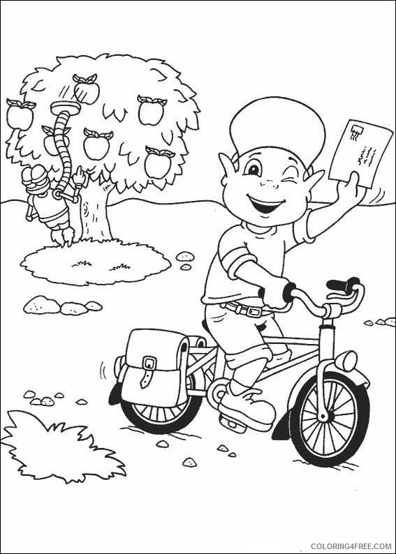 Adiboo Coloring Pages Printable Coloring4free
