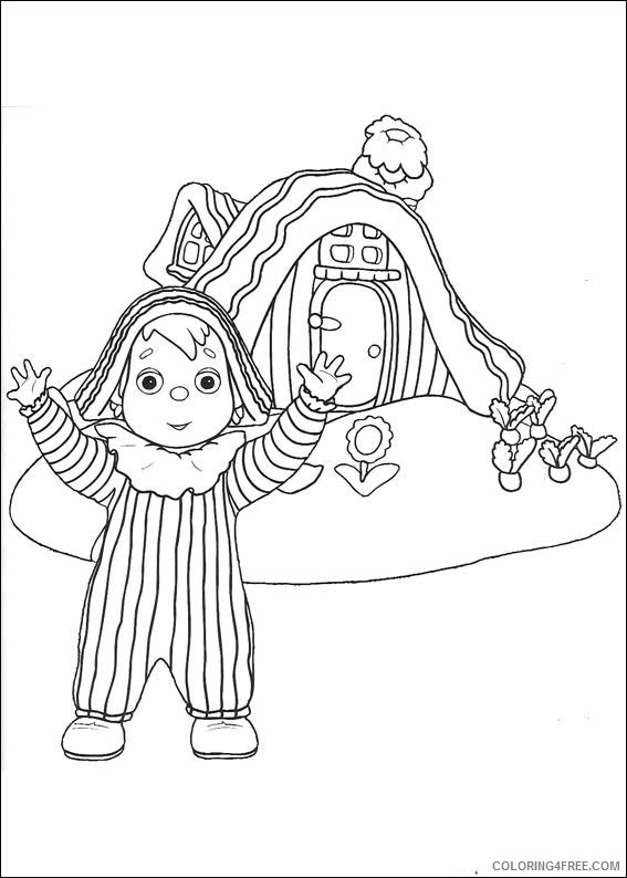 Andy Pandy Coloring Pages Printable Coloring4free