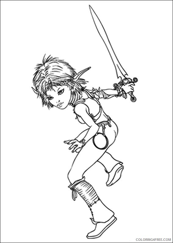 Arthur and The Minimoys Coloring Pages Printable Coloring4free