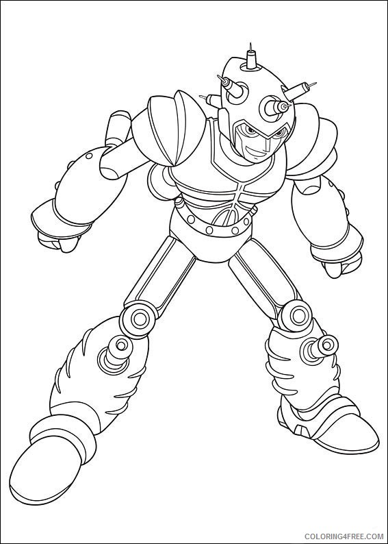 Astro Boy Coloring Pages Printable Coloring4free