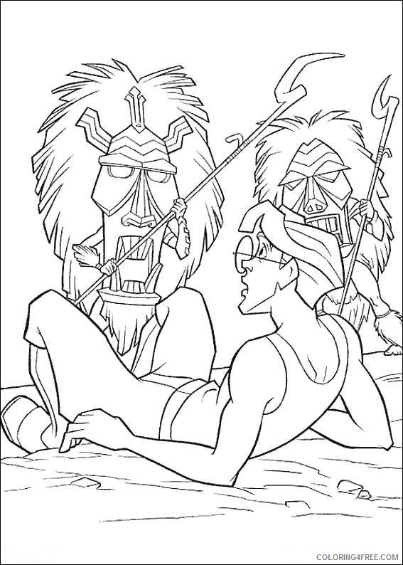 Atlantis Coloring Pages Printable Coloring4free