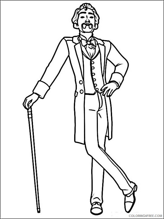 Ballerina Coloring Pages Printable Coloring4free