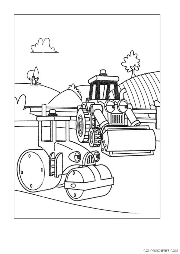 Bob the Builder Coloring Pages Printable Coloring4free