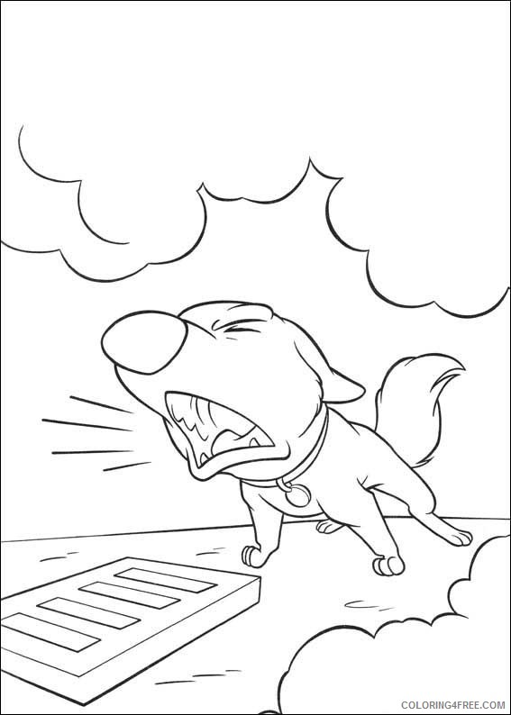 Bolt Coloring Pages Printable Coloring4free