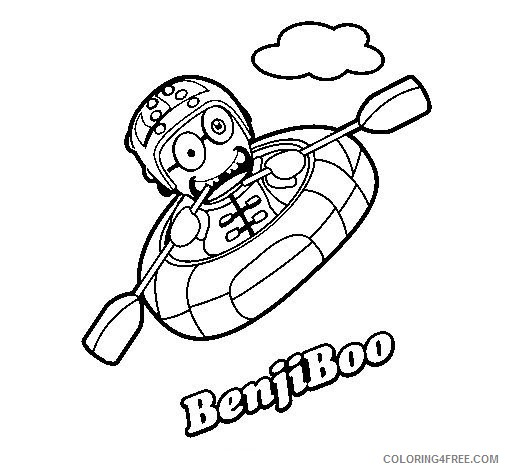 Boo Monsters Coloring Pages Printable Coloring4free