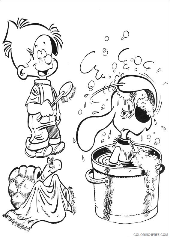 Boule and Bill Coloring Pages Printable Coloring4free