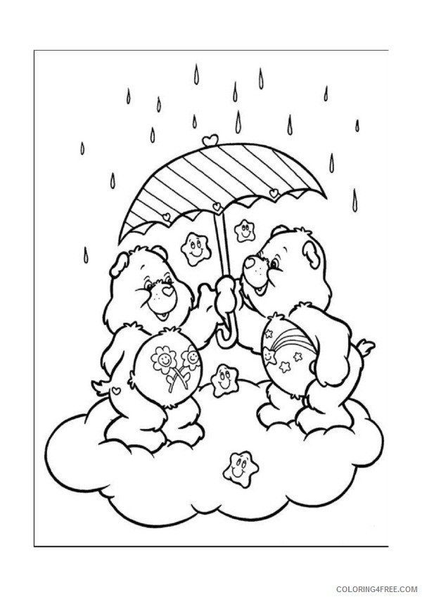 Care Bears Coloring Pages Printable Coloring4free