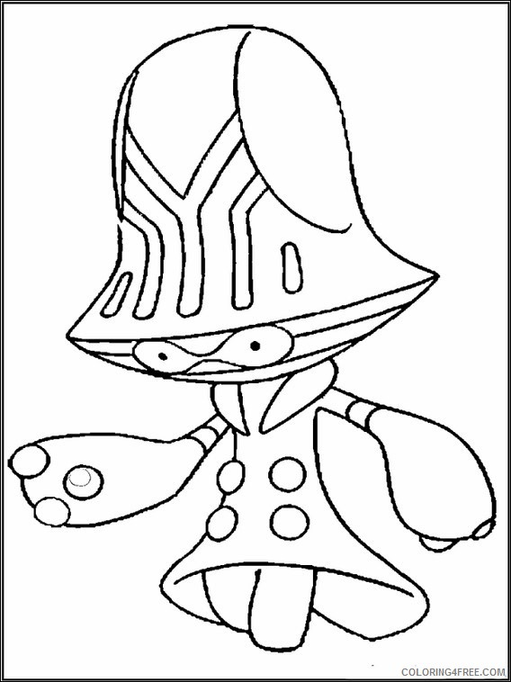 Chowder Coloring Pages Printable Coloring4free