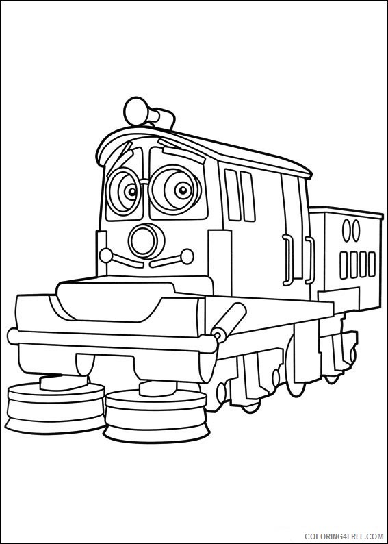 Chuggington Coloring Pages Printable Coloring4free