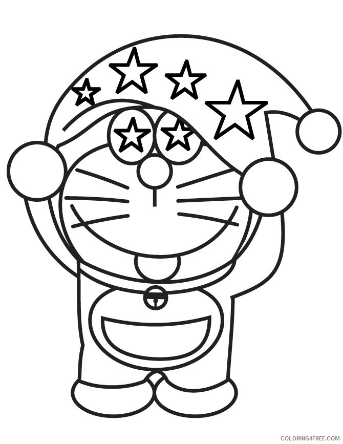 Doraemon Coloring Pages Printable Coloring4free