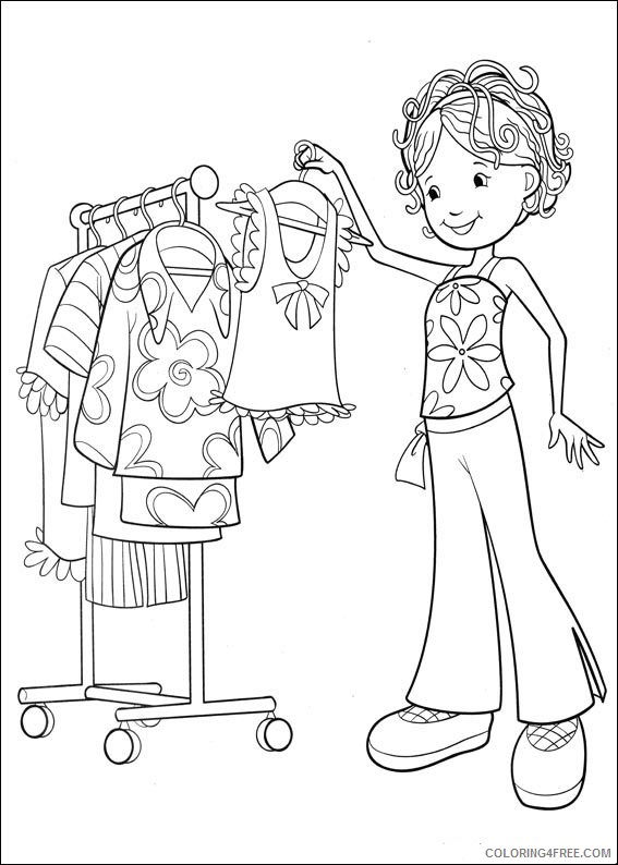 Groovy Girls Coloring Pages Printable Coloring4free