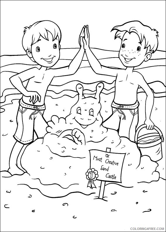 Holly Hobbie and Friends Coloring Pages Printable Coloring4free