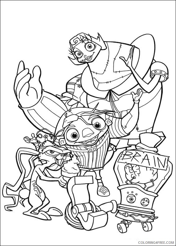 Igor Coloring Pages Printable Coloring4free