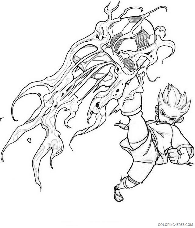 Inazuma Coloring Pages Printable Coloring4free