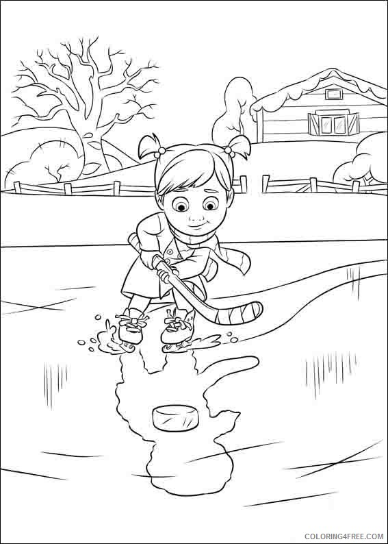 Inside Out Coloring Pages Printable Coloring4free