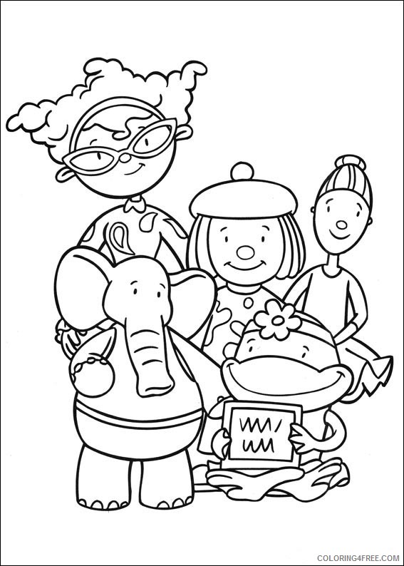 JoJos Circus Coloring Pages Printable Coloring4free