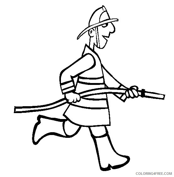 Jobs Coloring Pages Printable Coloring4free