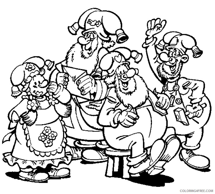 Kabouter Plop Coloring Pages Printable Coloring4free