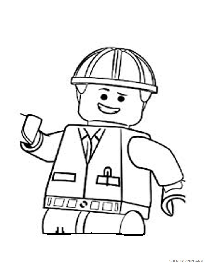 Lego Coloring Pages Printable Coloring4free