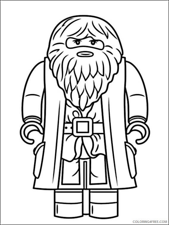 Lego Harry Potter Coloring Pages Printable Coloring4free
