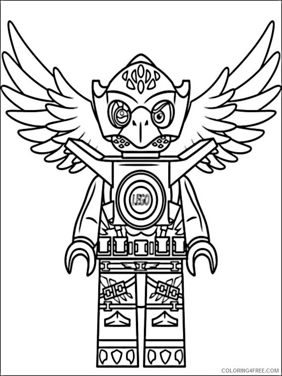 Lego Legends of Chima Coloring Pages Printable Coloring4free
