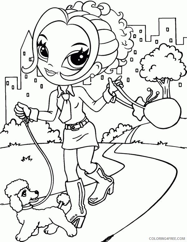 Lisa Frank Coloring Pages Printable Coloring4free