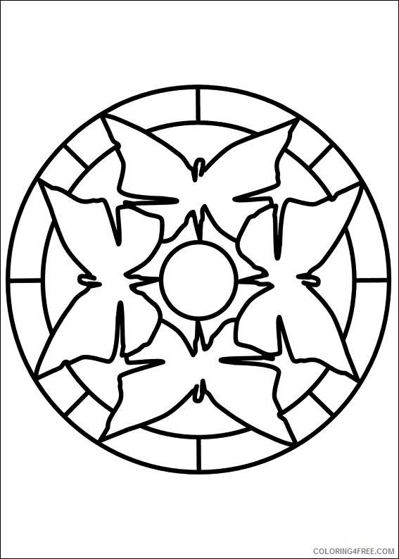 Mandala Coloring Pages Printable Coloring4free