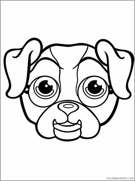 Pet Parade Coloring Pages Printable Coloring4free