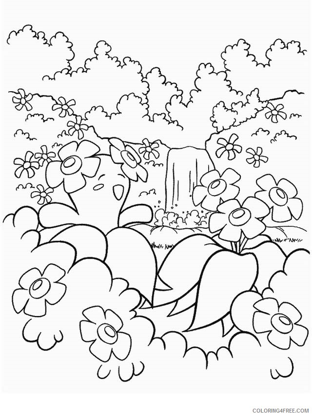 Pokemon Coloring Pages Printable Coloring4free