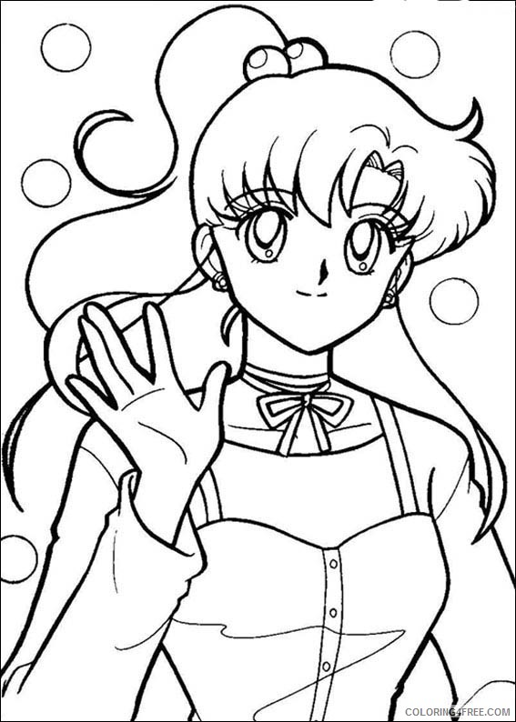 Sailor Moon Coloring Pages Printable Coloring4free