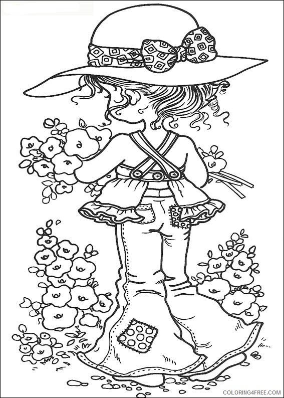 Sarah Kay Coloring Pages Printable Coloring4free