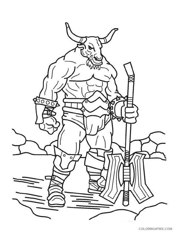 Scary Coloring Pages Printable Coloring4free