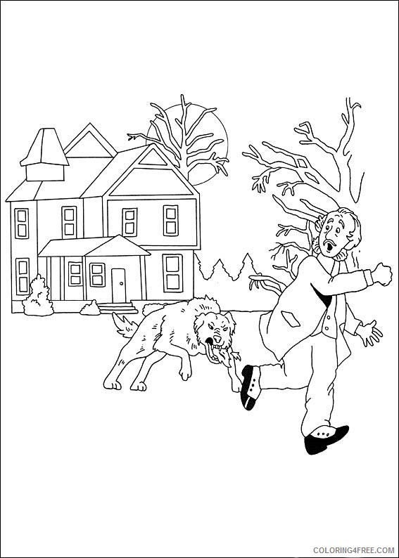 Sherlock Holmes Coloring Pages Printable Coloring4free
