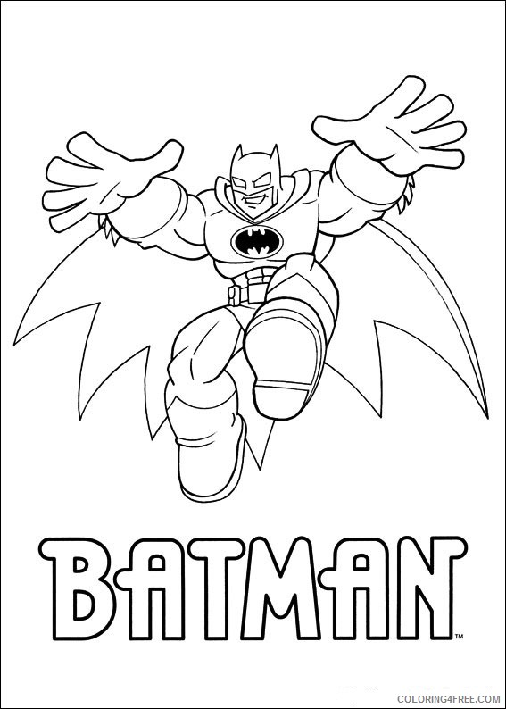 Super Friends Coloring Pages Printable Coloring4free