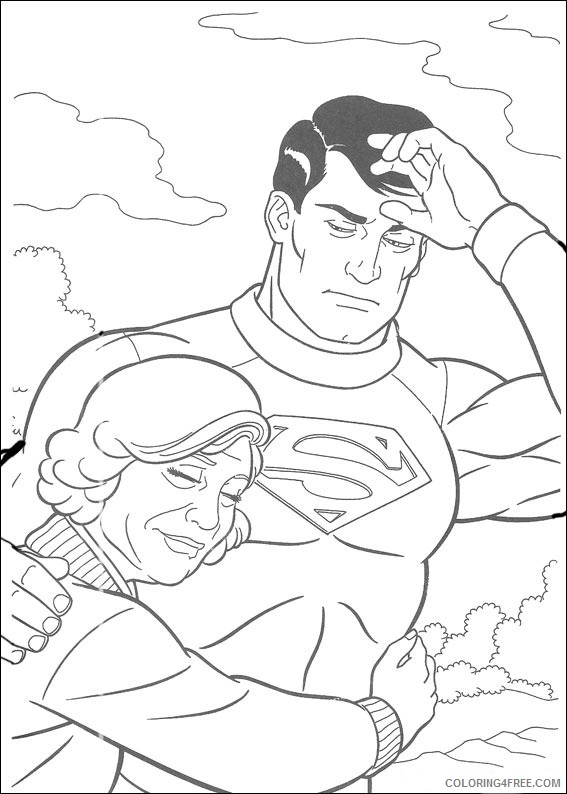 Superman Coloring Pages Printable Coloring4free