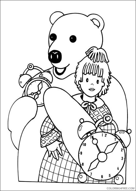 Teddy Bear Coloring Pages Printable Coloring4free