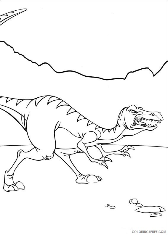 The Land Before Time Coloring Pages Printable Coloring4free