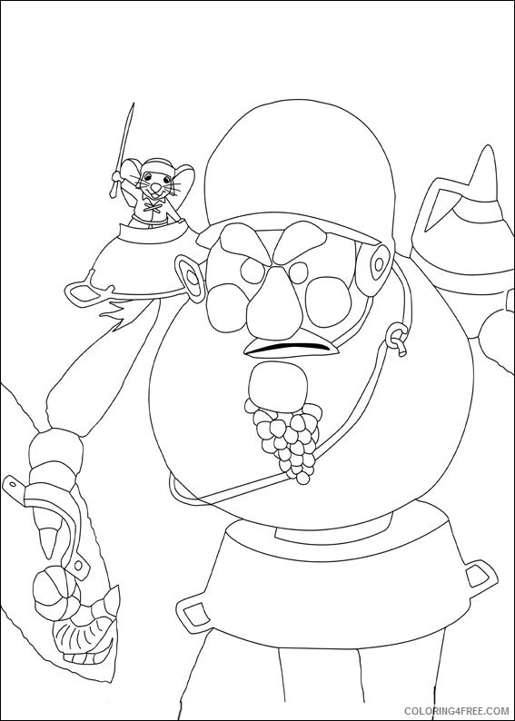 The Tale of Despereaux Coloring Pages Printable Coloring4free