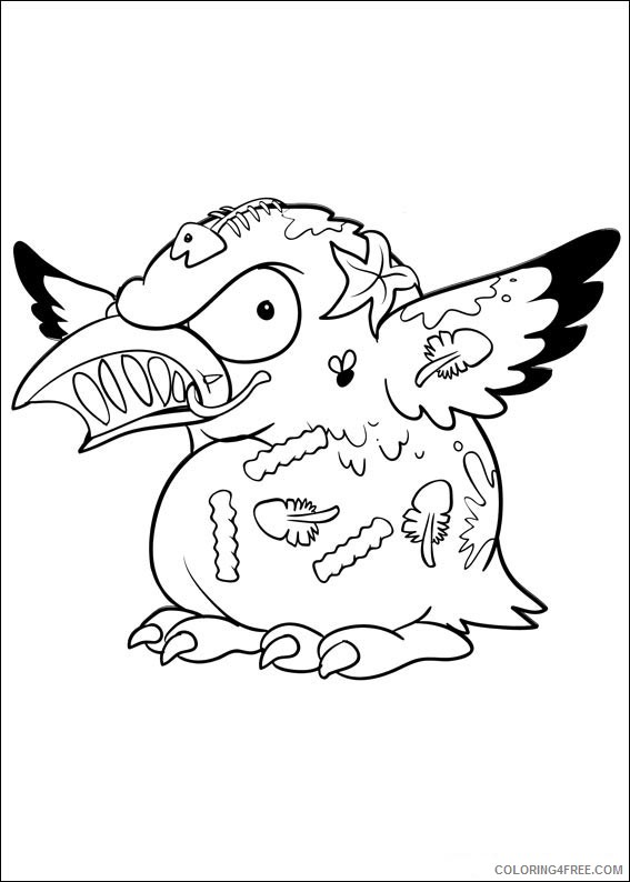 The Trash Pack Coloring Pages Printable Coloring4free