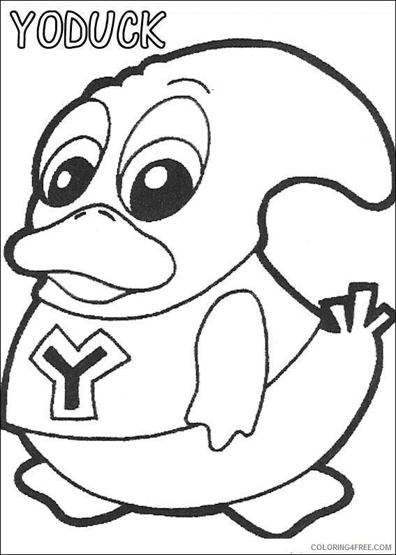 Yokomon Coloring Pages Printable Coloring4free
