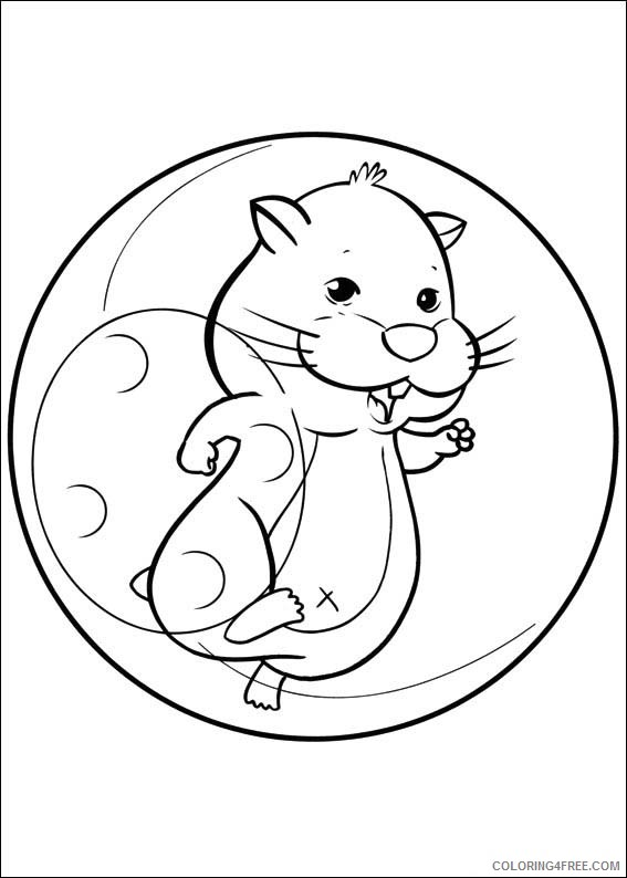 ZhuZhu Pets Coloring Pages Printable Coloring4free