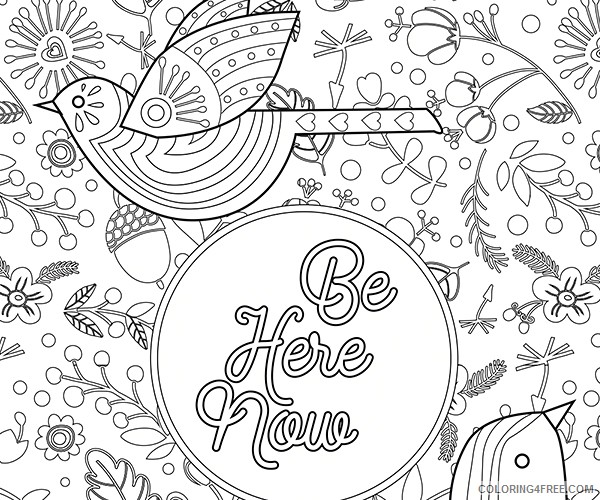 adult coloring pages express yourself Coloring4free