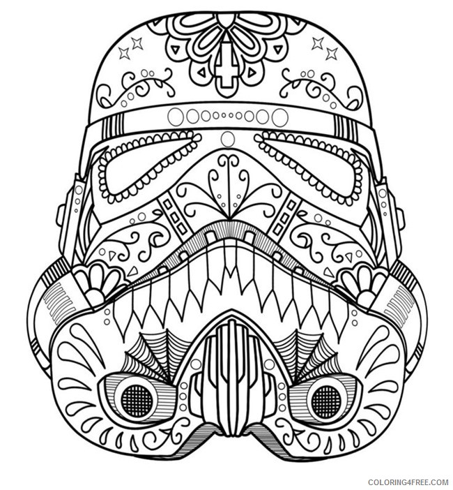 adult coloring pages star wars Coloring4free