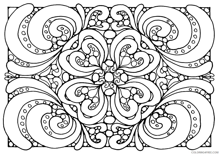 adult coloring pages to print Coloring4free