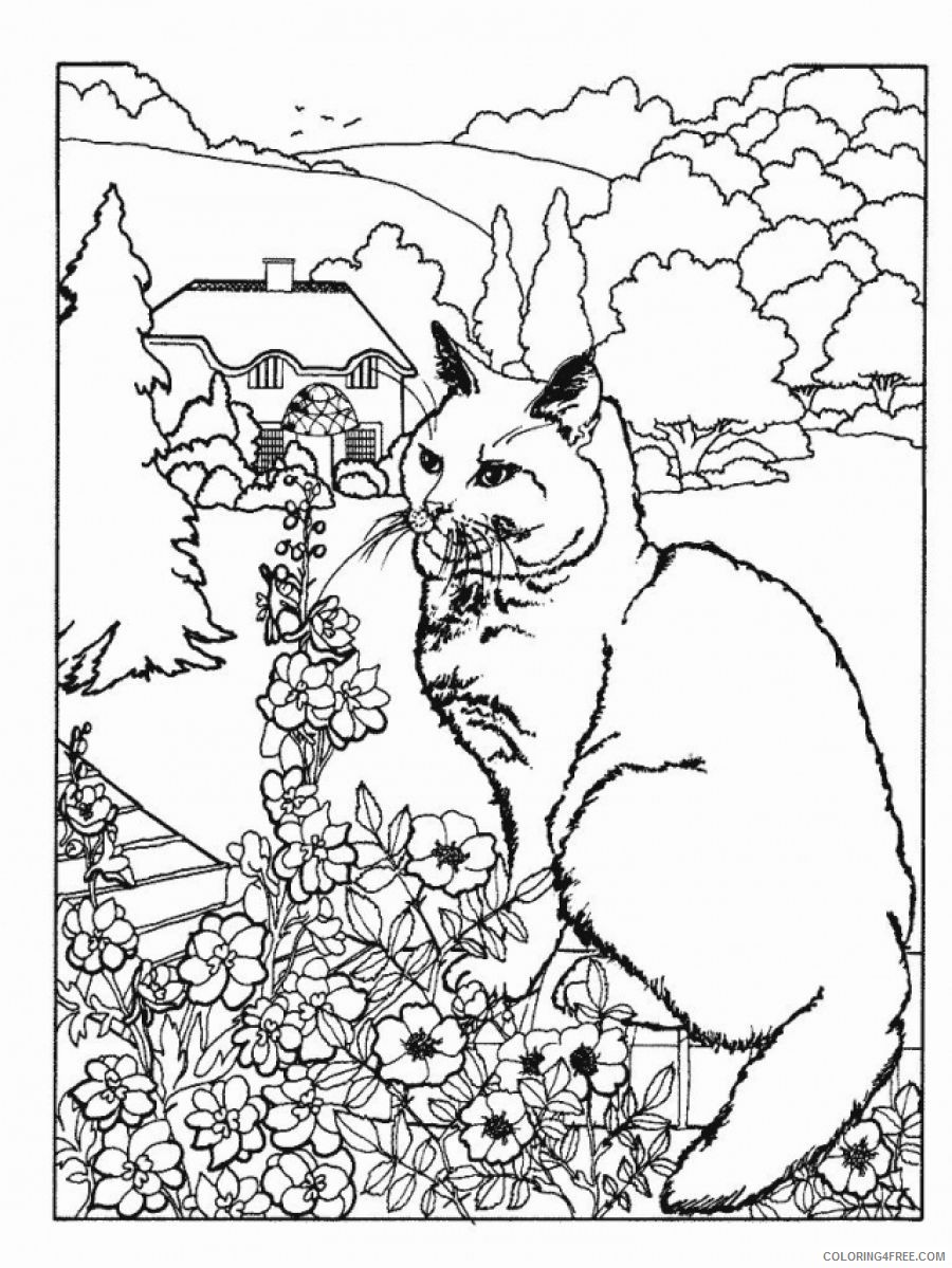 advanced coloring pages of nature and animals Coloring4free