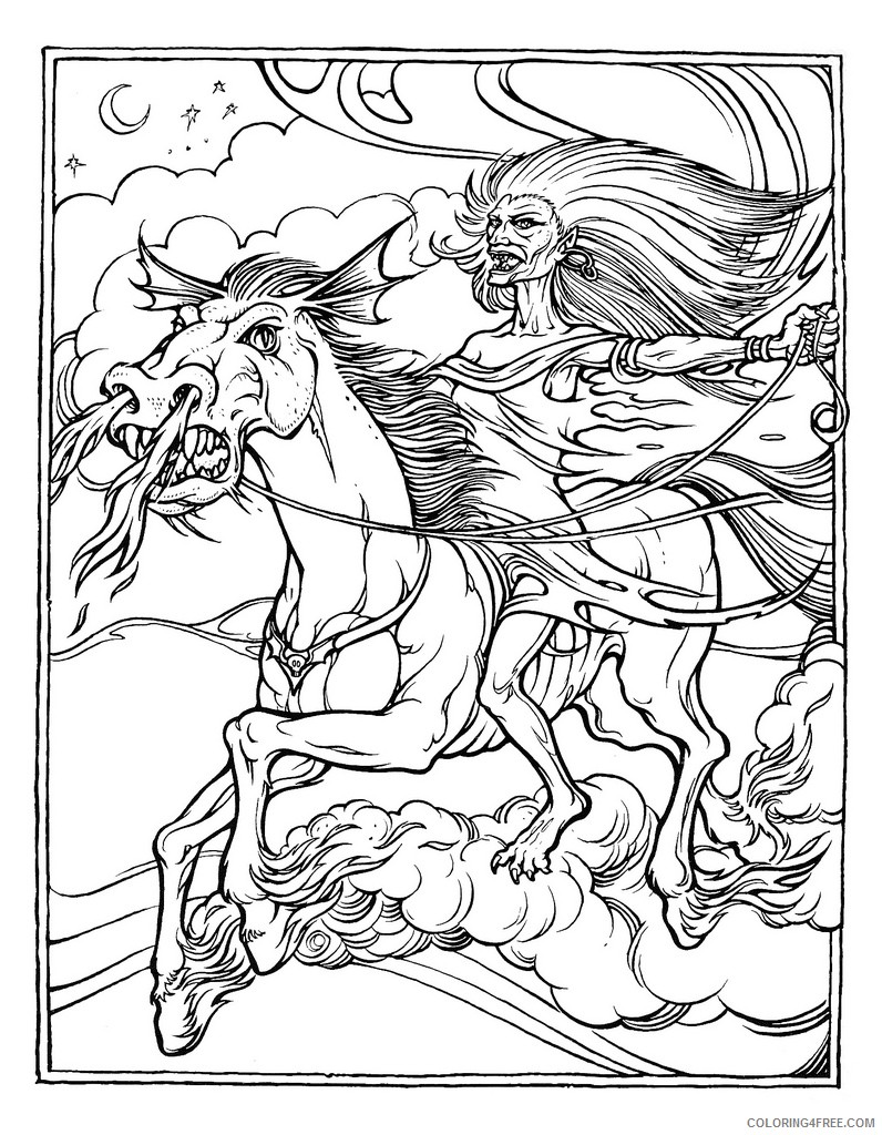 advanced coloring pages to print Coloring4free