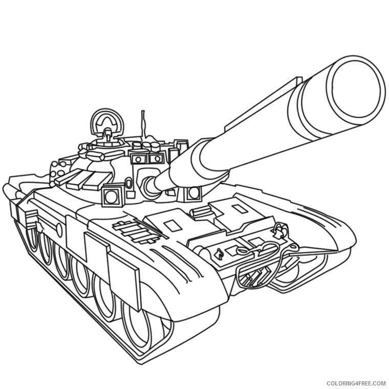 army tank coloring pages Coloring4free