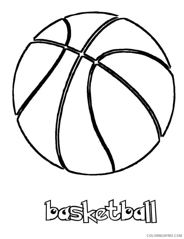 basketball coloring pages printable Coloring4free