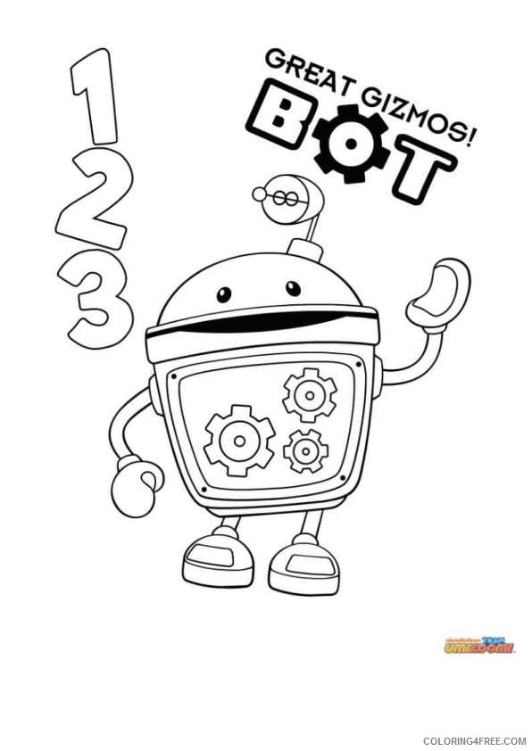 bot team umizoomi coloring pages Coloring4free