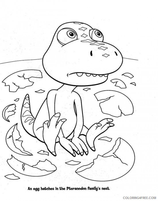 buddy dinosaur train coloring pages Coloring4free